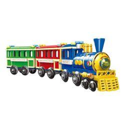 XINGBAO XB-01112 01112 XB01112 Xếp hình kiểu Lego COLORFUL WORLD Colorful World Mini Train Variety Sightseeing Train Tàu Tham Quan 369 khối