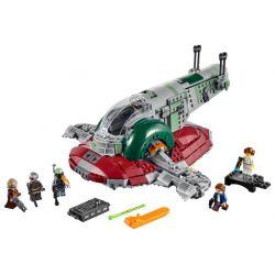 NOT Lego STAR WARS 75243 Slave I - 20th Anniversary Edition, LARI 11430 LEPIN 05155 Xếp hình Slave I - Phiên bản kỷ niệm 20 năm 1007 khối