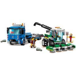 LARI 11223 LEPIN 02134 Xếp hình kiểu Lego CITY Harvester Transport Vehicle Vận Chuyển Máy Gặt 358 khối