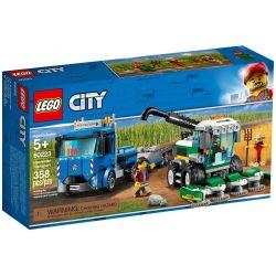 NOT Lego CITY 60223 Harvester Transport Vehicle , LARI 11223 LEPIN 02134 Xếp hình Vận Chuyển Máy Gặt 358 khối