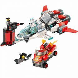Enlighten 3403 (NOT Lego Power Squad Power Squad ) Xếp hình Ô Tô Và Máy Bay Phản Lực 356 khối