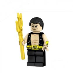CAYI 1540 Xếp hình kiểu Lego POLICE Thunder Police Thunder General Administration Trụ Sở Thunder 748 khối