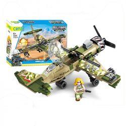 CAYI 2210 Xếp hình kiểu Lego IRON BLOOD MILITARY SPIRIT CH-47 Transport Helicopter Trực thăng vận tải CH-47 731 khối