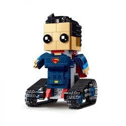 MOULDKING 13040 Xếp hình kiểu Lego WALKING BRICK Walking Brick Super-block Man Fang Hengbao Fangtang Superman Siêu Nhân đầu Vuông 354 khối