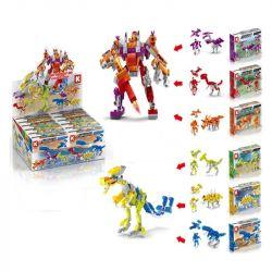 LE DI PIN 18001 Xếp hình kiểu Lego CREATOR 3 IN 1 Dinosaur Variant (12 Mixes) khủng long biến thể (12 hỗn hợp) 870 khối