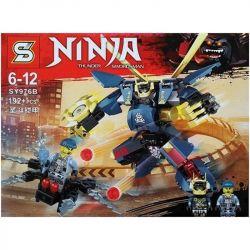 SHENG YUAN SY 976 SY976 SY976A 976A SY976B 976B Xếp hình kiểu THE LEGO NINJAGO MOVIE Ninja Thunder Swordsman Evil Car Wheel, Holy Fighting Armor Xe Máy Chém Và Người Máy Ninja gồm 4 hộp nhỏ 389 khối
