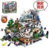 Lepin 18032 Lele 33067 Tenma TM7417 Bela 10735 Decool 831 Sheng Yuan 947 SY947 (NOT Lego Minecraft 21137 The Mountain Cave ) Xếp hình Hang Động Trong Núi 2932 khối