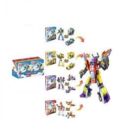 LE DI PIN 88802 Xếp hình kiểu Lego CREATOR 3 IN 1 Transformers người máy biến hình 552 khối