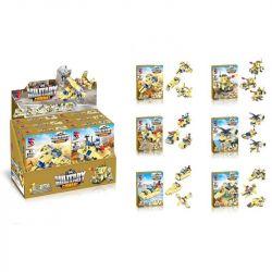 LE DI PIN 11010 Xếp hình kiểu Lego CREATOR 3 IN 1 Combat Vehicles phương tiện chiến đấu 517 khối