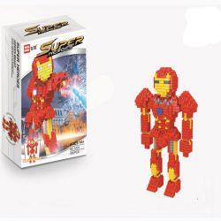 Wise Hawk 2204 Nanoblock Super Heroes Người Sắt Xếp hình Iron Man 455 khối