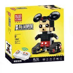 MOULDKING 13043 Xếp hình kiểu Lego WALKING BRICK Walking Brick Jerry-Mouse Fang Hengbao Fangtangmi Chuột Mikey điều Khiển Từ Xa 373 khối điều khiển từ xa