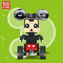MOULDKING 13043 Xếp hình kiểu Lego WALKING BRICK Walking Brick:Jerry-Mouse chuột mikey điều khiển từ xa 373 khối điều khiển từ xa