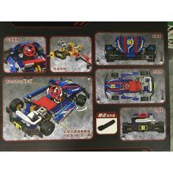 Winner 7066 Xếp hình kiểu Lego TECHNIC The KART Kart 1 8 Xe đua F1 Màu Xanh 371 khối
