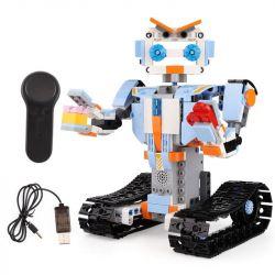 MOULDKING 13004 Xếp hình kiểu Lego WALKING BRICK Smart Build Creative Play Yuxing Team Bister M4 Intelligent Robot Assembled Remote Control Robot Thông Minh điều Khiển Từ Xa 351 khối điều khiển từ xa