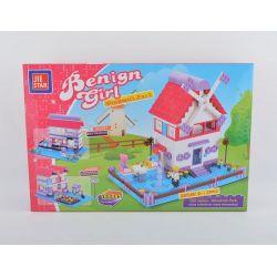 JIE STAR 33003 Xếp hình kiểu Lego CLASSIC Windmill Park Công viên cối xay gió 365 khối