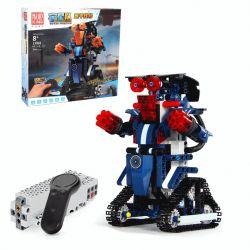 MOULDKING 13002 Xếp hình kiểu Lego WALKING BRICK Smart Build Creative Play Yuxing Team Sanda Number Blue M2 Intelligent Robot Assembly Remote Control Người Máy điều Khiển Từ Xa 349 khối điều khiển từ