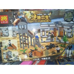 LELE 36040 Xếp hình kiểu Lego PUBG BATTLEGROUNDS Jedi Survival Jedi Counterattack Trận Chiến Sinh Tồn ở Myrama 348 khối