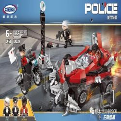 XINGBAO XB-10002 10002 XB10002 Xếp hình kiểu Lego Police Intercept Đánh Chặn Và Săn đuổi 362 khối
