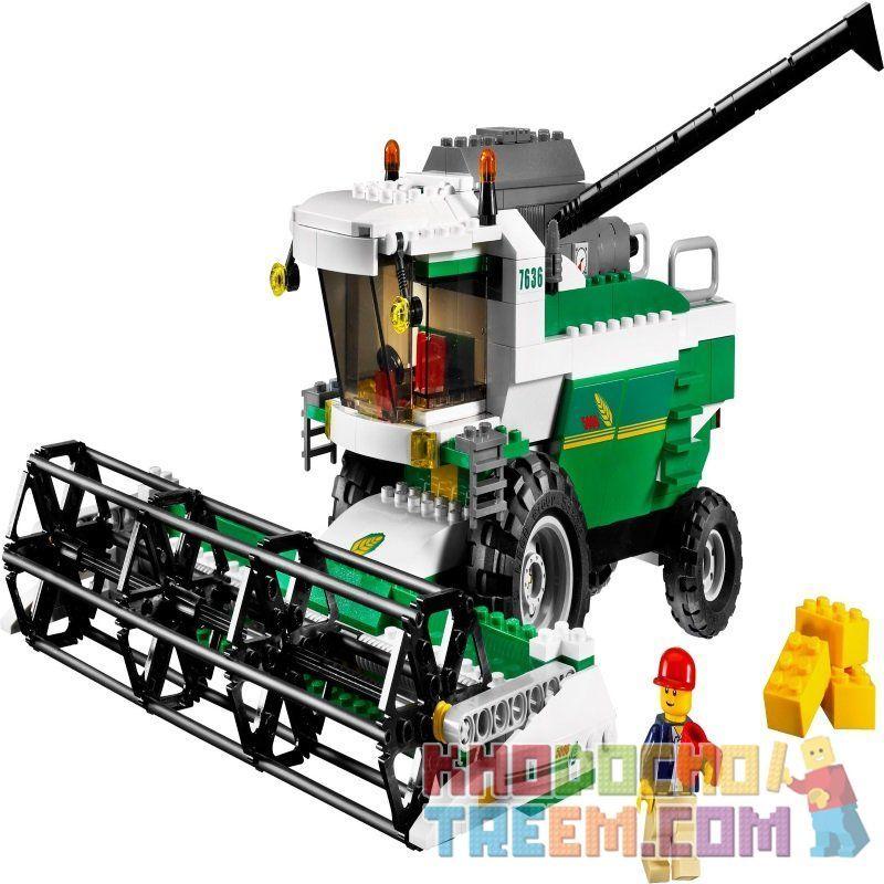 NOT Lego CITY 7636 Combine Harvester, CAYI 1809 Xếp hình Gặt đập liên hợp 360 khối