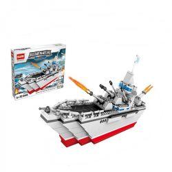 HSANHE 6445 Xếp hình kiểu Lego CLASSIC Battleship Tàu chiến 353 khối