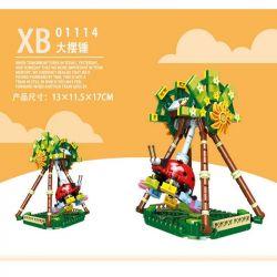 XINGBAO XB-01114 01114 XB01114 Xếp hình kiểu Lego COLORFUL WORLD Colorful World Giant Frisbee Variety Super Big Pendulum Con Lắc Siêu 352 khối