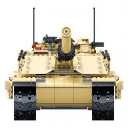 GUDI 6102 Xếp hình kiểu Lego MILITARY ARMY M1A2 Abrams U.S. Main Battle Tank Xe Tăng Chủ Lực 2155 khối