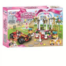 Winner 5073 Xếp hình kiểu Lego FRIENDS cảnh cưới ở cửa thiên đường 345 khối