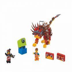 LARI 11246 LEPIN 45006 Xếp hình kiểu THE LEGO MOVIE 2 THE SECOND PART Ultrakatty & Warrior Lucy! Lego Movie 2 Super Cat And Samurai Lucy Ultrakatty & Chiến Binh Lucy! 348 khối