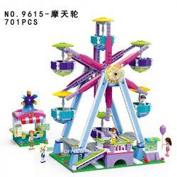 GUDI 9615 Xếp hình kiểu Lego MODERN GIRLS Modern Girls:Ferris Wheel chiếc đu quay diệu kỳ 701 khối