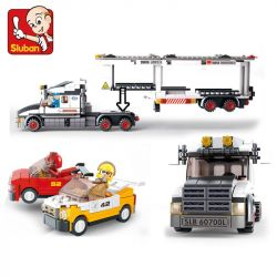 SLUBAN M38-B0339 B0339 0339 M38B0339 38-B0339 Xếp hình kiểu Lego CITY Phương tiện giao thông vận tải 638 khối