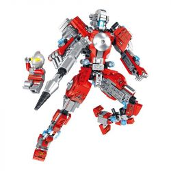 PanlosBrick 690011 Panlos Brick 690011 Xếp hình kiểu Lego ULTRAMAN Altman 12 Combinations Of Ettmannca Armor Ultraman Thế Hệ đầu Tiên 556 khối