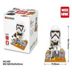 Wise Hawk 2405 Nanoblock Star Wars Stormtrooper Xếp hình Lính Stormtrooper 522 khối