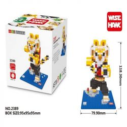 Wise Hawk 2389 Nanoblock Kung Fu Panda Master Tigress Xếp hình Đại Sư Tỷ Hổ Nương 515 khối