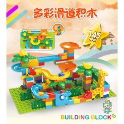 Feelo 1600A (NOT Lego Duplo Smart Slide Assembly ) Xếp hình Lắp Ráp Cầu Trượt Thông Minh 145 khối