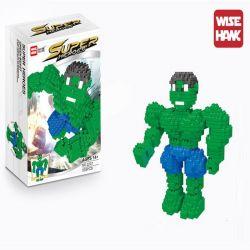 Wise Hawk 2207 Nanoblock Super Heroes Hulk Xếp hình Người Khổng Lồ Xanh 472 khối