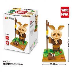 Wise Hawk 2388 Nanoblock Kung Fu Panda Master Shifu Xếp hình Sư Phụ Shifu 432 khối
