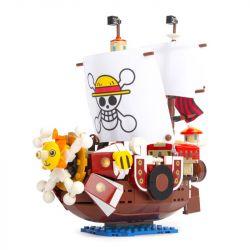 SHENG YUAN SY SY6299 6299 Xếp hình kiểu Lego ONE PIECE THOUSAND SUNNY tàu chiến của hải tặc mũ rơm 432 khối