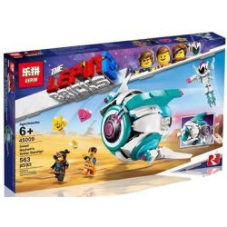 Lepin 45009 Bela 11249 (NOT Lego The Lego Movie 70830 Sweet Mayhem's Systar Starship! ) Xếp hình Phi Thuyền Sweet Mayhem 502 khối