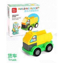 Feelo 1601F Xếp hình kiểu LEGO Duplo Truck lắp ráp xe tải 7 khối