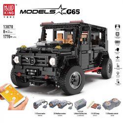 LEPIN 20100 LIN07 0017 MOULDKING 13068 13069 13070 REBRICKABLE MOC-2425 2425 MOC2425 Xếp hình kiểu Lego TECHNIC LEGO Technic G500 AWD Wagon Ô Tô SUV G500 gồm 2 hộp nhỏ 1628 khối điều khiển từ xa