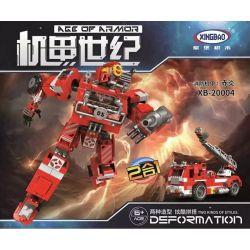 Xingbao XB-20004 (NOT Lego Age of Armor Fire Fighter 2 In 1 ) Xếp hình Cứu Hỏa 2 Trong 1 779 khối