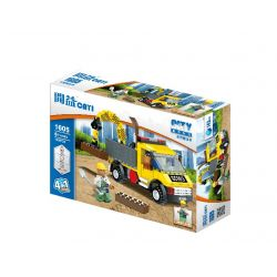 Cayi 1605 (NOT Lego Classic Dump Truck ) Xếp hình Xe Ben 541 khối