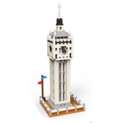Schess SC1085 Nanoblock Architecture Big Ben Xếp hình Tháp Đồng Hồ 572 khối