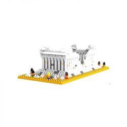 Wise Hawk 2284 Nanoblock Architecture Parthenon Temple Xếp hình Đền Parthenon 559 khối