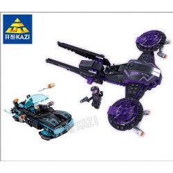 Kazi KY6604 6604 Xếp hình kiểu Lego X AGENTS Iron Wings Attack 377 khối