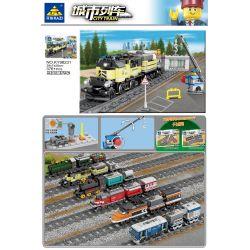 Kazi Gao Bo Le Gbl Bozhi KY98231 (NOT Lego Trains City Train ) Xếp hình Tàu Hỏa Chạy Bằng Động Cơ 376 khối