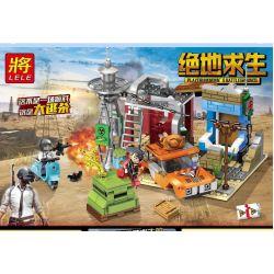 Lele 36047 (NOT Lego PUBG Battlegrounds The Last Jedi ) Xếp hình Cảnh Chiến Đấu Sinh Tồn 355 khối