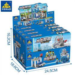 Kazi KY67254 67254 KY67254-1 67254-1 KY67254-2 67254-2 KY67254-3 67254-3 KY67254-4 67254-4 Xếp hình kiểu Lego City Police Urban Police Human Small Scene 4 4IN1 4 Cảnh Sát Thành Phố gồm 4 hộp nhỏ 365 k