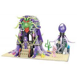 Winner 5011 Xếp hình kiểu Lego MERMAID Wei Mei Fish Deep Sea Witch Phù Thủy Biển Sâu 348 khối