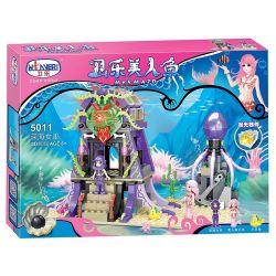 Winner 5011 (NOT Lego Disney Princess Mermaid ) Xếp hình Phù Thủy Biển Sâu 348 khối